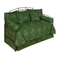 Amazon.com - Rain Forest Green - Daybed Bedding Set ...