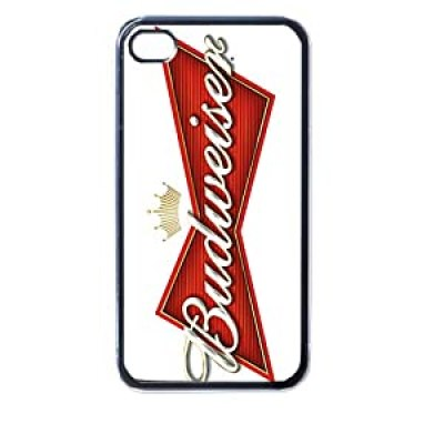 Budweiser King of Beers Beer Can Logo iphone 4/4s case at amazon