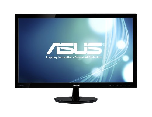 ASUS VS228H-P 21.5-Inch Full-HD LED Monitor (Black)
