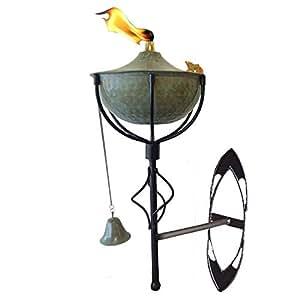 Amazon.com : Maui Wall Sconce Tiki Torch, Landscape torch