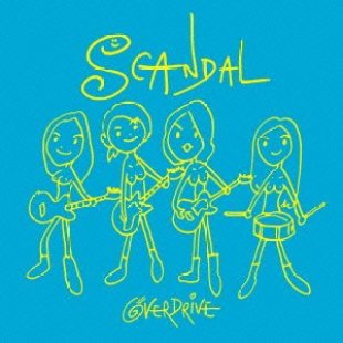 [Single](DVDISO+FLAC) SCANDAL – OVER DRIVE (Download)[2013.09.18]