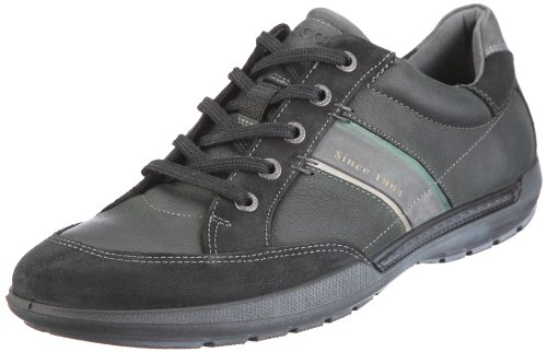 Ecco Welt Sneaker 530514, Herren, Halbschuhe, Schwarz (black 57135), EU 43