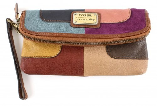 Fossil Emory Folder Clutch - Multi