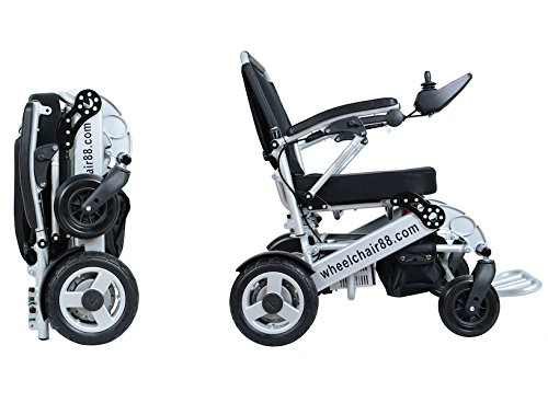 lightweight fast folding power wheelchair