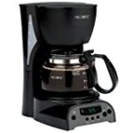 Mr. Coffee DRX5 4-Cup Programmable Coffeemaker, Black for $19.99 + Shipping