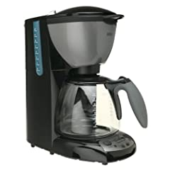 Braun KF580-BK AromaDeluxe 10-Cup TimeControl Coffeemaker