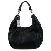 COSETTE Italian Made Black Leather Designer Hobo Bag ...