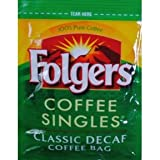 Folgers® Decaf Coffee Singles (Case of 19)