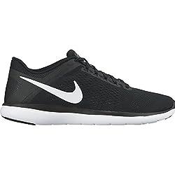 Women's Nike Flex 2016 RN Running Shoe Black/Cool Grey/White Size 6.5 M US