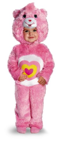 Disguise Costumes Baby Girl's Care Bears Wonderheart Bear Deluxe Costume, Pink, 3T-4T