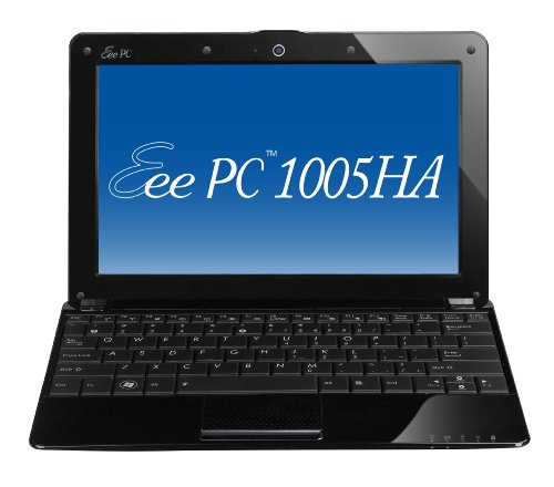 Asus Eee PC 1005HA-PU17-BK 10.1-Inch Intel Atom Netbook Computer (Crystal Black)
