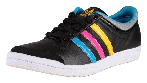 Adidas Originals Top Ten Low Sleek W Damen Schuhe Sneakers Freizeitschuhe Sportschuhe Turnschuhe Trainingsschuhe Training Freizeit Sport Strassenschuhe Frauen Sleek Series Black Schwarz Größe 43 1/3 UK 9