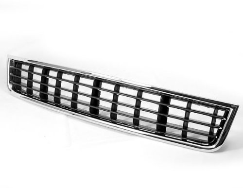 Front Bumper Center Lower Chrome Vent Grille Grill for