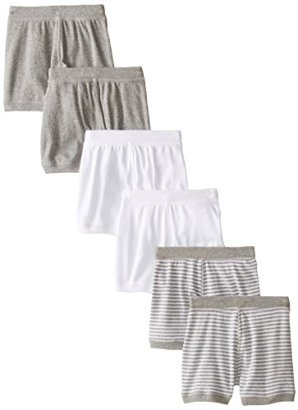 Burts-Bees-Baby-Baby-Boys-Infant-Set-of-6-Multi-Boxer-Shorts-Multi-24-Months