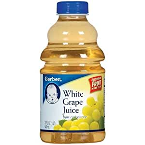Amazon.com : Gerber White Grape Juice 32 fl oz (Pack of 6 ...