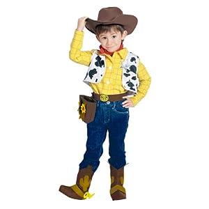 ディズニー トイストーリー ウッディー キッズコスチューム 男の子 100cm-120cm 802059S
