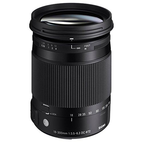 Sigma 18-300mm F3.5-6.3 DC Macro HSM ( C ) Lens for Pentax KAF Cameras