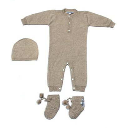 100-Baby-Cashmere-Overall-Set-Brown-Mongolian-Cashmere-Bodysuit-1-Year-Old