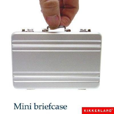 (キッカーランド) KIKKERLAND ミニブリーフケース mini briefcase