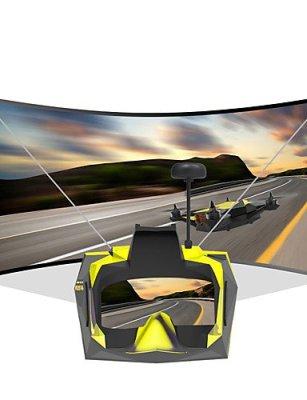ANDP-FPV-Screen-TOVSTO-Vivid-FPV-Goggles-RC-Quadcopters-Drones-RC-Airplanes-74-9V-black-yellow