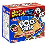 Kellogg's Pop Tarts Strawberry, 22 oz