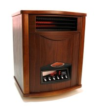 Tuscan Walnut Comfort Furnace Infrared Heater UV   Air ...
