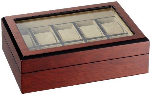 Modalo Uhrenbox für 10 Uhren Nussbraun 6103