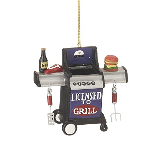Midwest CBK Licensed To Grill Christmas Ornament