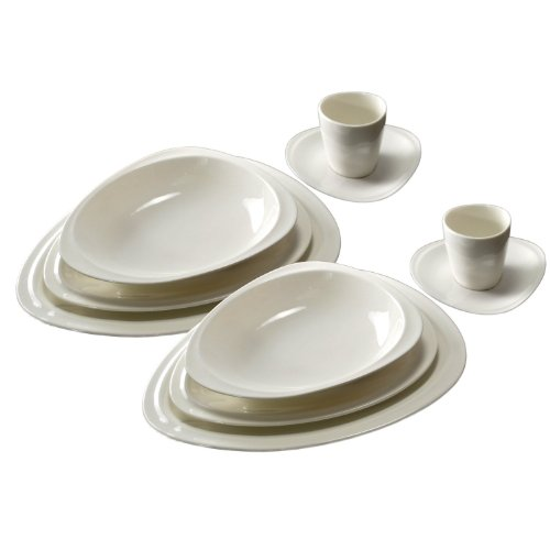 Twilight Saga Breaking Dawn Part 1 Wedding Reception of Edward Cullen and Bella Swan Dinnerware Set for Two Porcelain 10-piece By Carmona
