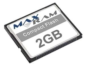 MaxRam 2GB Compact Flash Memory Card: Amazon.co.uk