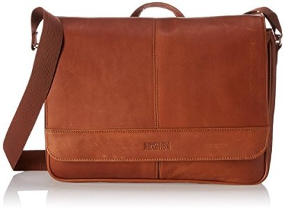 Kenneth-Cole-Reaction-Risky-Business-Leather-Messenger-BagBriefcase