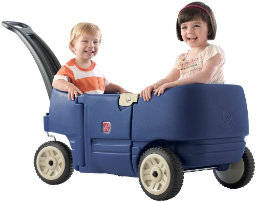 41XCDu8KsjL - Build a homemade kids pull wagon: Radio-Flyer style with better steering!