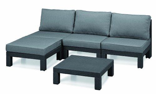 gartenmobel sets gunstig allibert 206476 lounge set nevada set rattanoptik kunststoff anthrazit gartenmobel sets gunstig