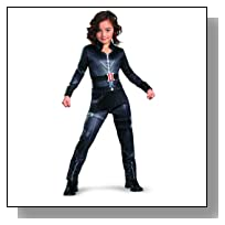 Avengers Black Widow Classic Costume, Black, Medium