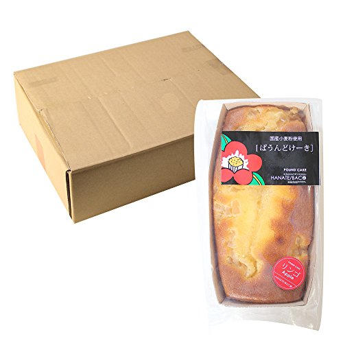 熊本菓房 パウンドケーキ(リンゴ)8本入り 洋菓子ランキング上位のパウンドケーキ まとめ買いや業務用に最適