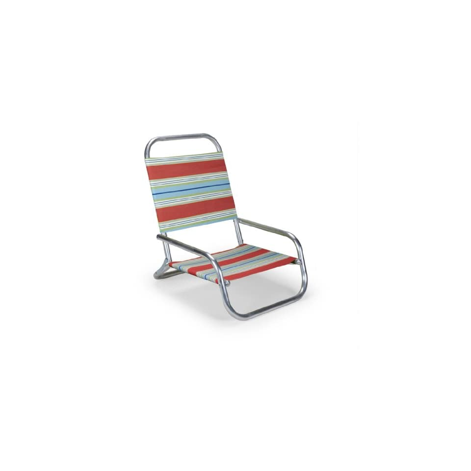 Telescope Beach Chair Telescope Casual Sun And Sand Folding Beach Chair Atlantic Blue