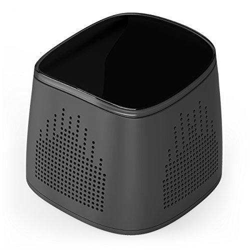 Inateck Bluetoothスピーカー ワイヤレススピーカー 小型 iPhone スマートフォン iPad 対応 【 ブラック 】
