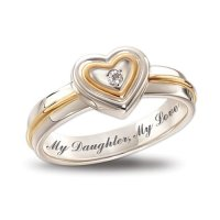 Right Hand Diamond Rings: My Daughter, My Love Diamond