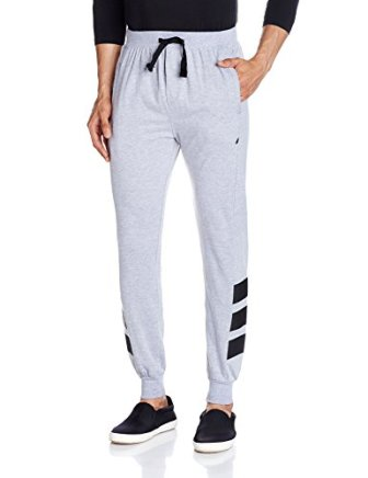 Body Tantrum Men's Track Pants (BTADDG_32W x 31L_Dark Grey)