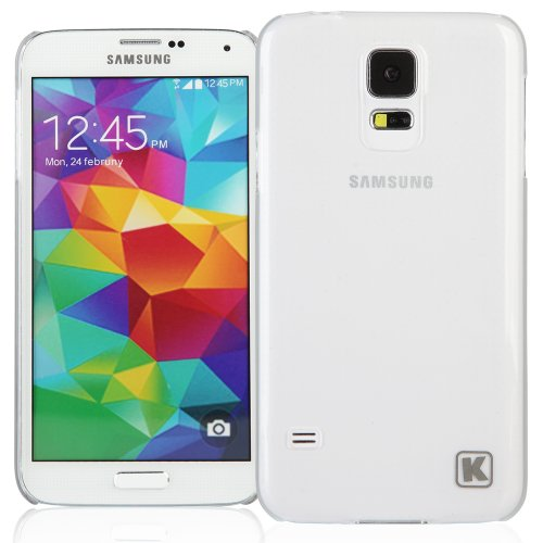 KAYSCASE Slim Hard Shell Cover Case for Samsung Galaxy S5 Smart Phone (Lifetime Warranty) ( Frost Clear)