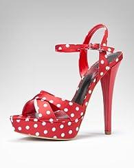 Lizzie Polka-Dot Sandal