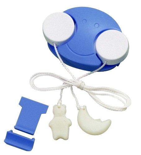 スマイルキッズ こども用 電気スイッチ こどもスイッチ ブルー / ホワイト ACS-01