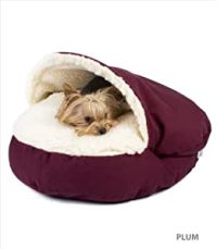 Amazon.com : Small Cozy Cave Dog Bed : Pet Supplies