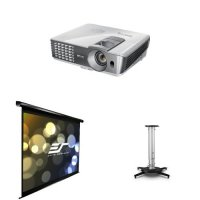 BenQ W1070 1080P 3D Home Theater Projector Bundle with ...