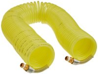 Legris Nylon 12 Self-Recoiling Hose Assembly with Brass ...