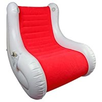 Inflatable Gaming iChair with Speakers - RED and WHITE ...