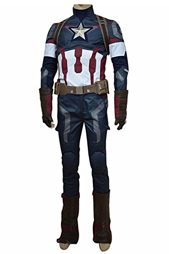 Avengers: Age of Ultron Captain America Steve Rogers Uniform Costume