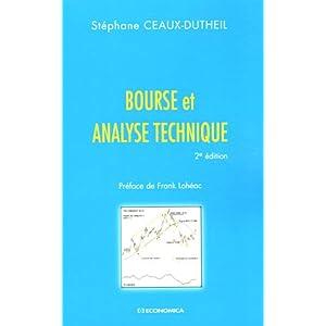 Bourse et analyse technique de Stéphane Ceaux Dutheil