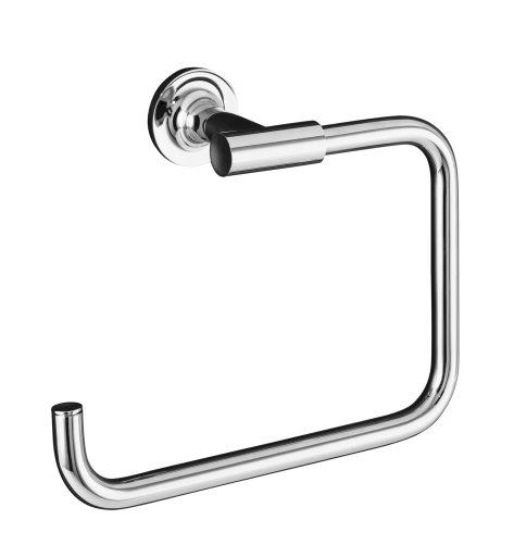 KOHLER K 14441 CP Purist Towel Ring Polished Chrome
