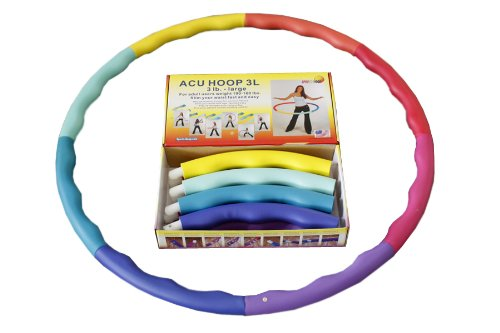 Weighted Sports Hula Hoop for Weight Loss Acu Hoop 3L 3 lb ...